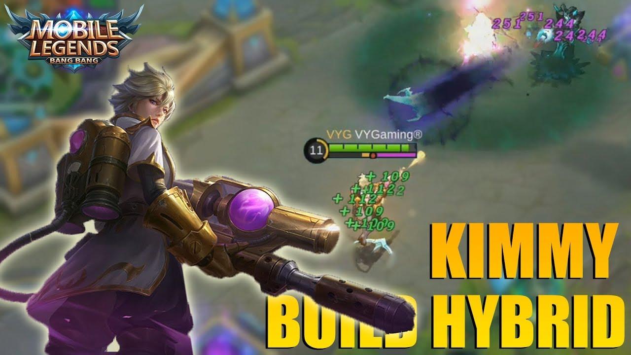 KIMMY PAKAI BUILD HYBRID MAKIN BIKIN GILA - THE REAL MARKSMAN MAGE TER OP!