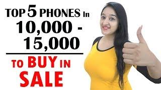 Best Phones to Buy In 10000 - 15000 in Flipkart & Amazon sale