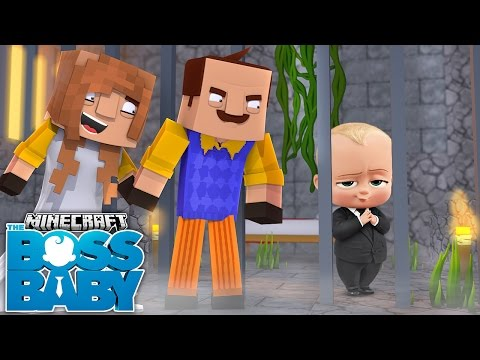 Minecraft BOSS BABY - THE NEIGHBOUR ADOPTS THE BOSS BABY - Donut the Dog Minecraft Roleplay