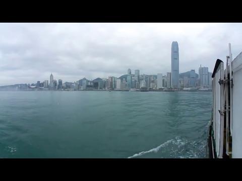 [Samsung Gear360 (2017)]Hong Kong Victoria Harbour Tour 360 VR 4K -360香港遊 維多利亞港 天星小輪
