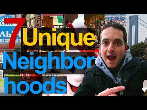 New York's 7 MOST Unique Neighborhoods? - Discover NYC  !