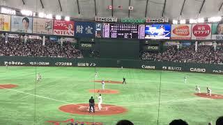日米野球2018 柳田悠岐 ホームラン