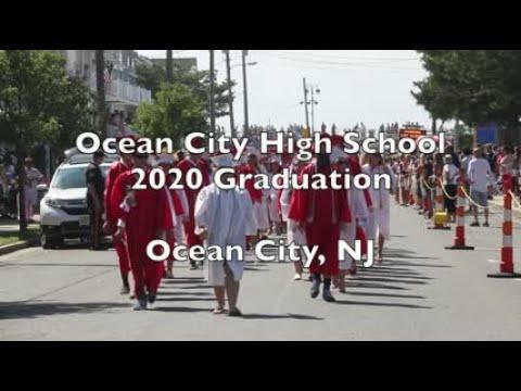 Ocean City High School 2020 graduation