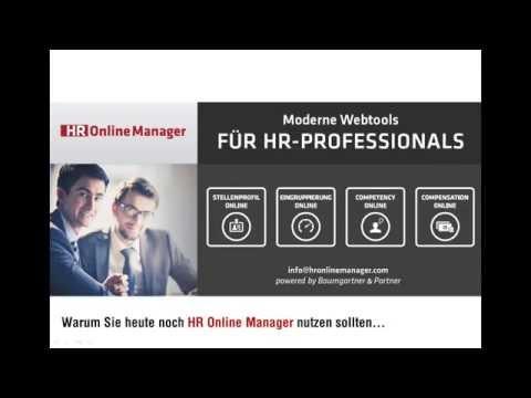 """Webinar: """"Wie Sie mit dem Webtool  HR Online Manager  die Qualität und Effizienz Ihre HR Ar"""