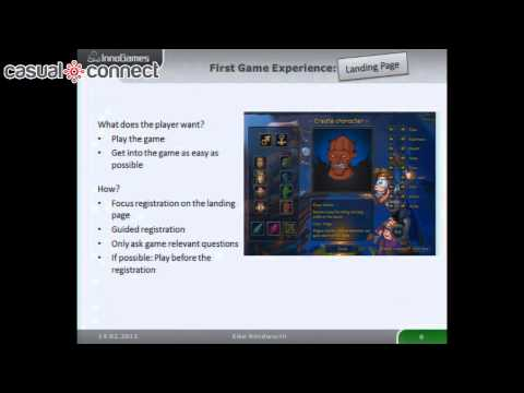 User Experience and Usability in Browser Games | Eike KLINDWORTH