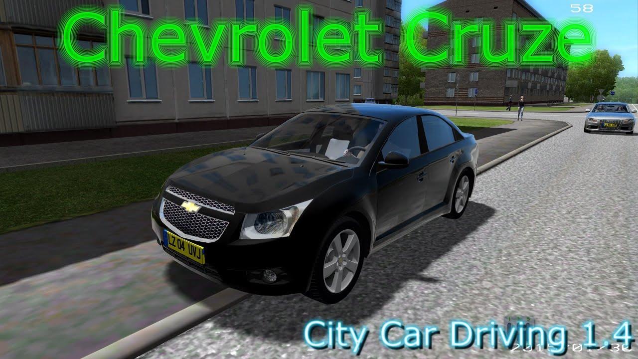 City Car Driving Chevrolet Cruze Mod