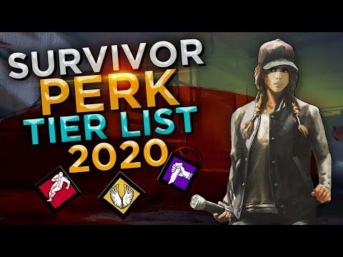 Dead by Daylight - Survivor Perk Tier List (2020)