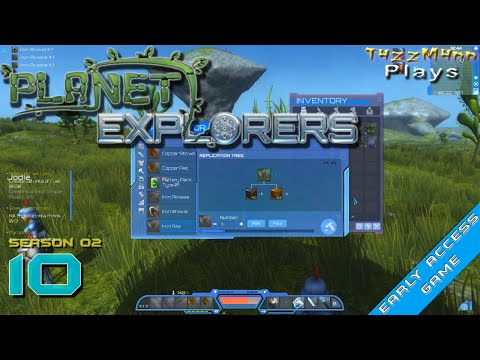 Planet Explorers S02E10 - Steel & Ironworks - Alpha - Let's