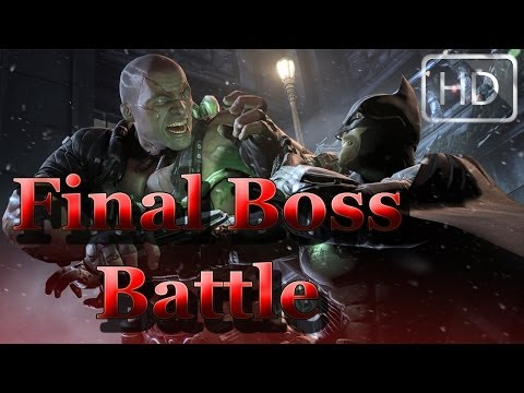 Batman: Arkham Origins | ENDING Final Boss Battle VS Bane & Joker! [HD]
