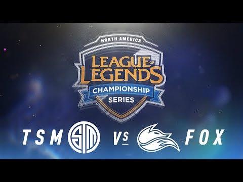 TSM vs. FOX - Week 6 Day 1 | NA LCS Spring Split | TSM vs. Echo Fox (2018)