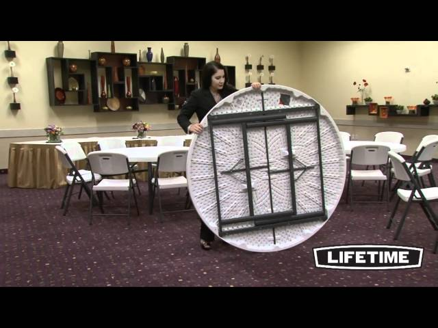Lifetime 22971 Lifetime 60 Round Banquet Table for School and Church