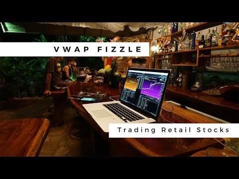 How To Use The VWAP Fizzle To Day Trade Falling Retail Stocks