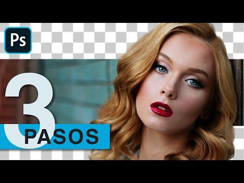 3 Pasos Para Recortar Cabello Con Pinceles   Photoshop