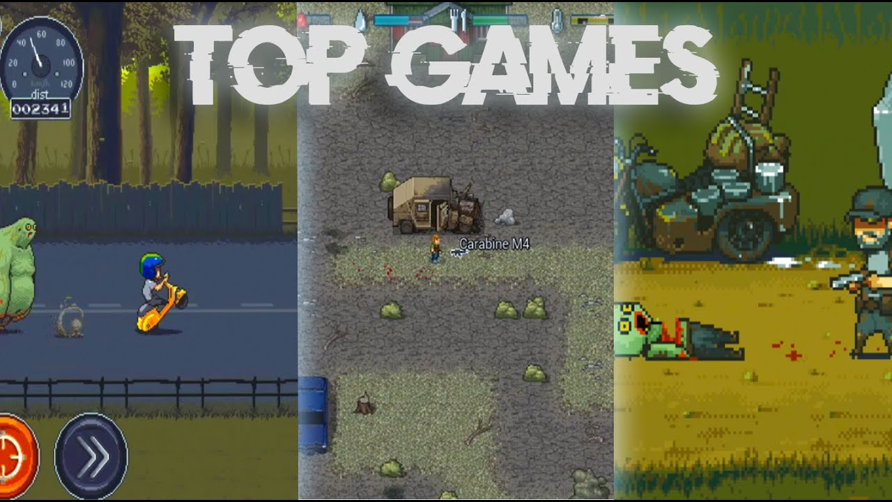 Pixel Survival Zombie Games For Android 2020 Art Online And Offline Youtube