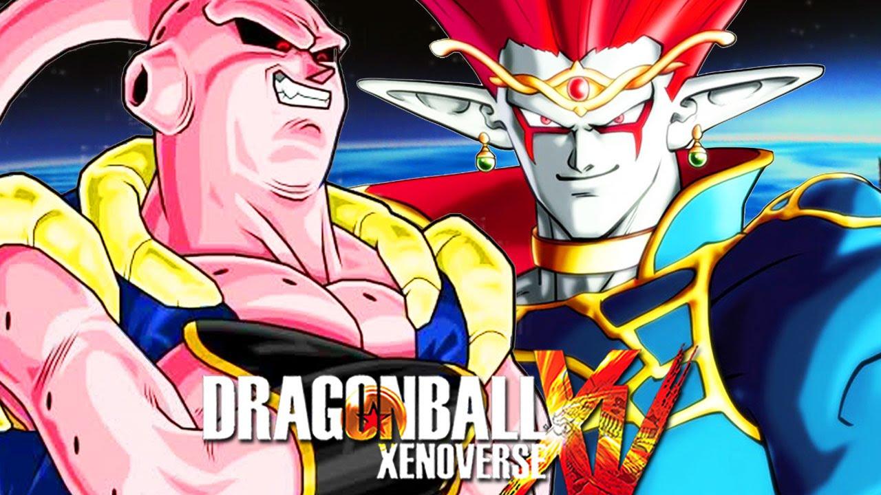 Aureolas Gigantes dragon ball xenoverse mods - buutenks & demigra playable - pc gameplay
