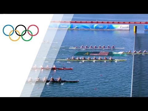 The USA win gold in Women's Eight