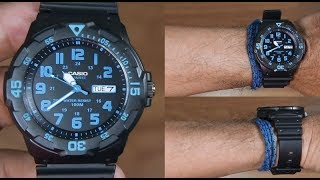 CASIO STANDARD MRW-200H-2BV ANALOG - UNBOXING