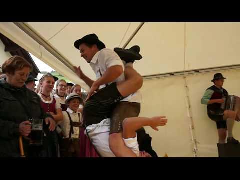 Austrian  Folk Dance Schuhplattler (Rauris) / Дерзкий народный танец