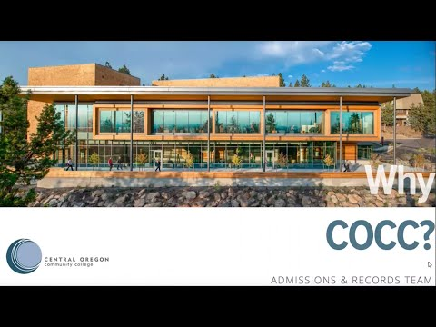 Why attend Central Oregon Community College?