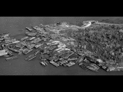 Ship Graveyard at Shooters Island, NYC