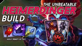 Heimerdinger Countered? | THE UNBEATABLE PUSH BUILD VS NASUS