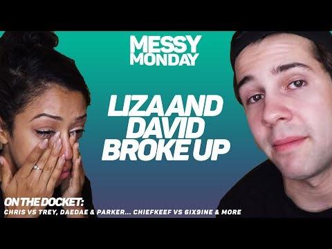 DRAMA ALERT: LIZA & DAVID BROKE UP, 6IX9INE VS CHIEF KEEF, PontiacMadeDDG VS Chris | MessyMonday