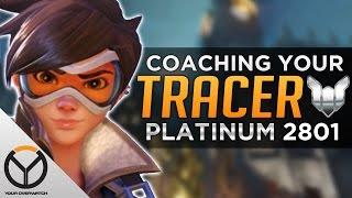 Overwatch Coaching: TRACER - Platinum Rank 2801 SR
