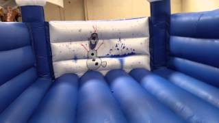 Frozen bouncy castle with speaker £689