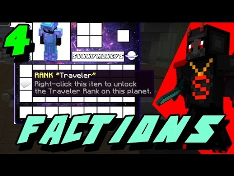 Minecraft Cosmic Pvp Factions Ep 4: Free Rank!