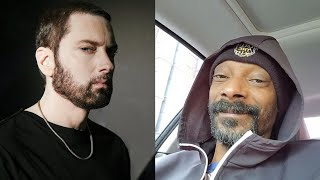 "Snoop Dogg Responds To Eminem's Diss Track... ""Better Hope I Don't Respond To That Soft A** Sh*t"""
