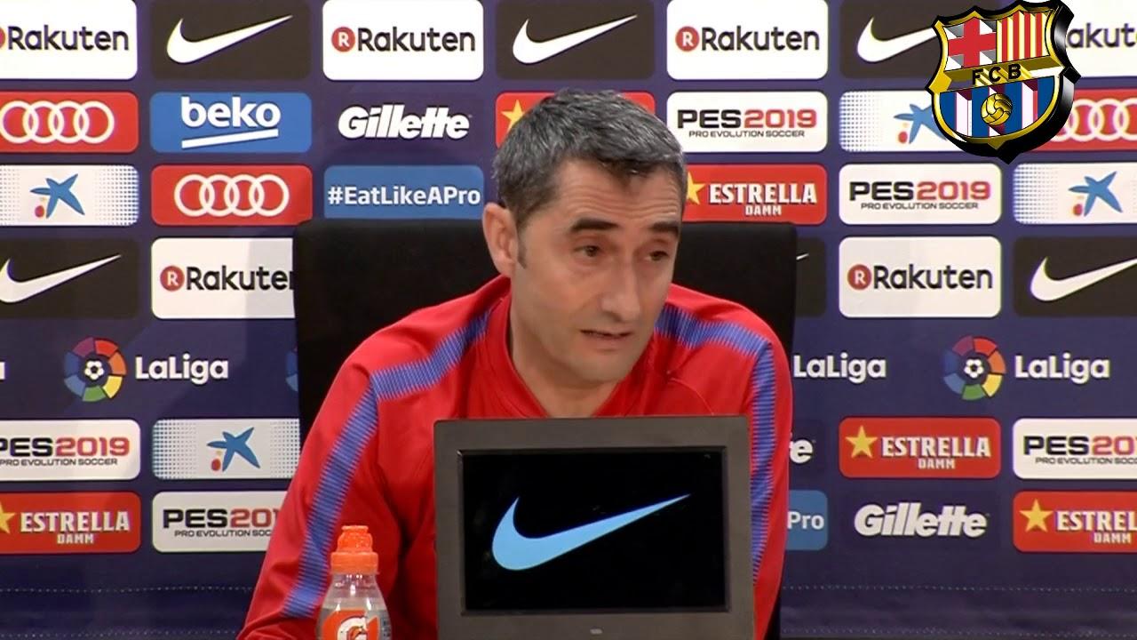 FC Barcelona vs Real Madrid   Rueda de Prensa Valverde Previa   05/05/2018 La Liga