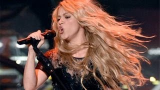 Shakira Gives A Powerful Performance Of Her New Song