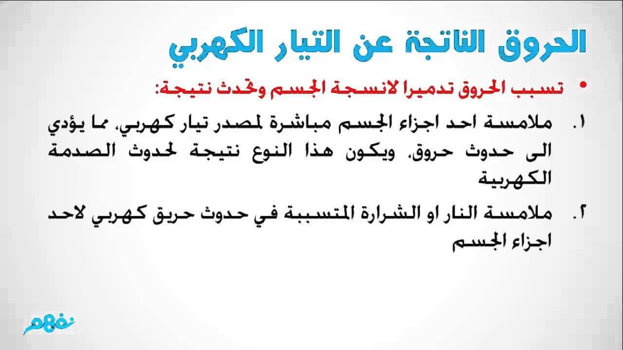 أخطار الكهرباء وكيفية التعامل معها العلوم الصف السادس الابتدائي الترم الثاني منهج مصري نفهم Youtube