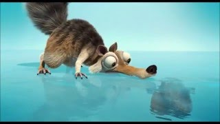 ice age 2 scrat got stuck