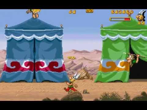 Jeu Astérix & Obélix game (1996)
