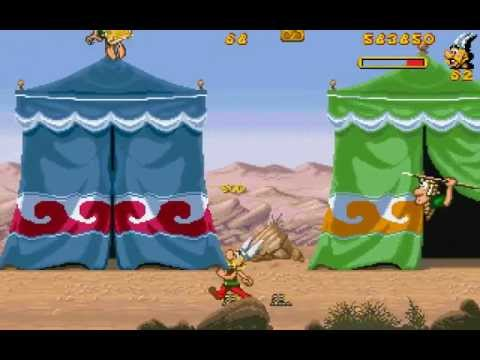 Jeu Astérix & Obélix game (1996) poster