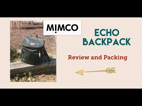 MIMCO Echo Backpack (Olive) : Review And Packing