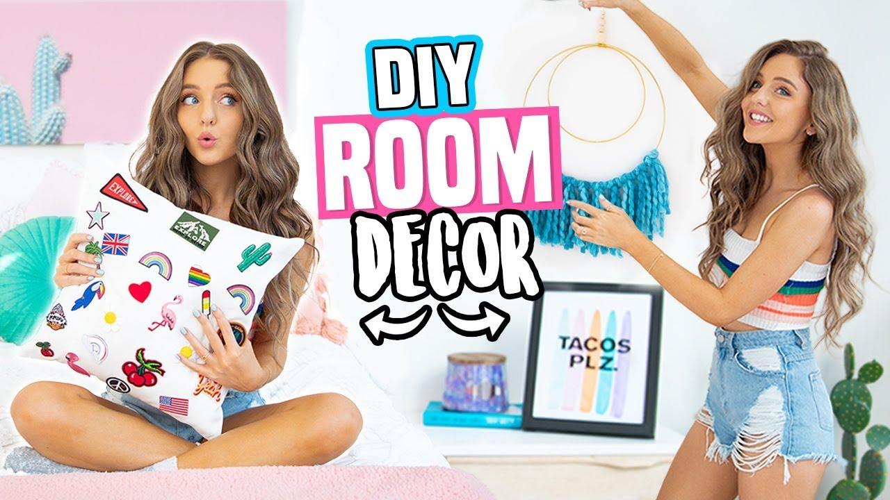Diy Room Decor Ideas 2018 Quick Cheap Diys Youtube