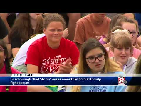 Scarborough Middle School raises more than $5,000 to fight cancer
