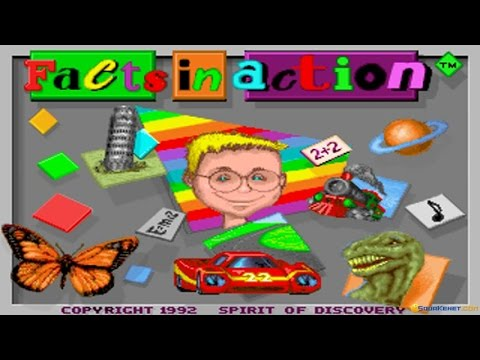 Facts In Action gameplay (PC Game, 1994)