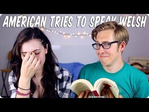 AMERICAN TRIES TO SPEAK WELSH | Evan Edinger