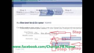 change facebook name after limit name change limit reached also read description below