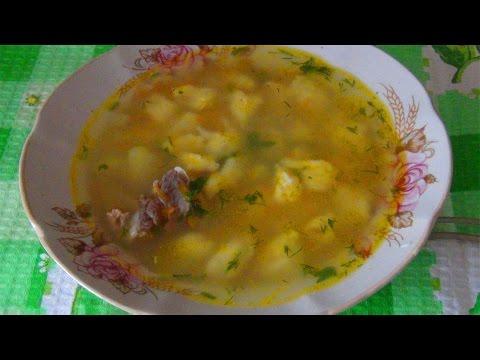 Идеи для обеда-суп с  клецками