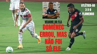 Domènec mexe muito no time, Flamengo dá vexame, mas jogadores também têm responsabilidade na derrota