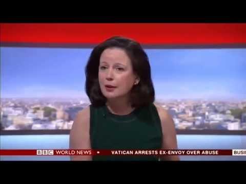 Conrelia Meyer: Newspaper Review On BBC World 24/09/2014