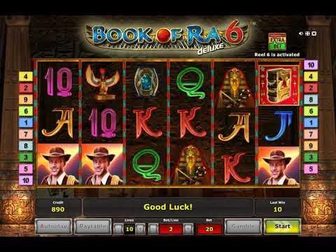 Игровой автомат book of ra 6 deluxe обзор