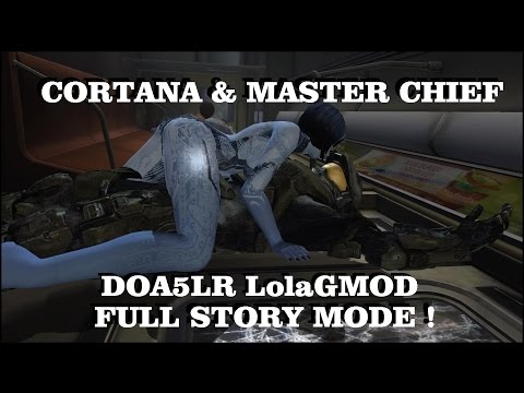 DOA5LR HALO MOD - MASTER CHIEF & CORTANA (V1.2) FULL STORY MODE  (English Voice) !