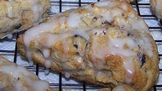Gluten Free Apple Scones With Walnuts