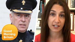 Epstein's Ex-Girlfriend Ghislaine Maxwell's Arrest Puts Pressure on Prince Andrew   Lorraine