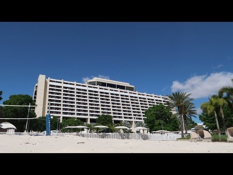 Disney's Contemporary Resort Tour | Hotel Grounds Walking To